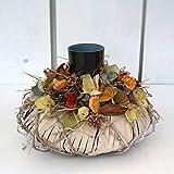 FRI-Collection Tischdeko Tischkranz mit Teelichtgläschen im Boho-Style