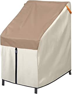 Porch Shield Waterproof Patio Stackable Chairs Cover 27W x 33D x 46H inch