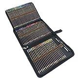 78pcs Profesional lápices de colores Conjunto de Dibujo Artístico,Lápices de Bosquejo Material de dibujo Incluye Caja de Cremallera,Mejores Lápices de colores Conjunto Ideal para Adultos y Niños