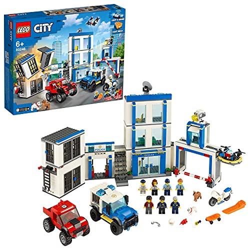 LEGO City 60246 Polizeistation mit Leucht und Sound-Steinen