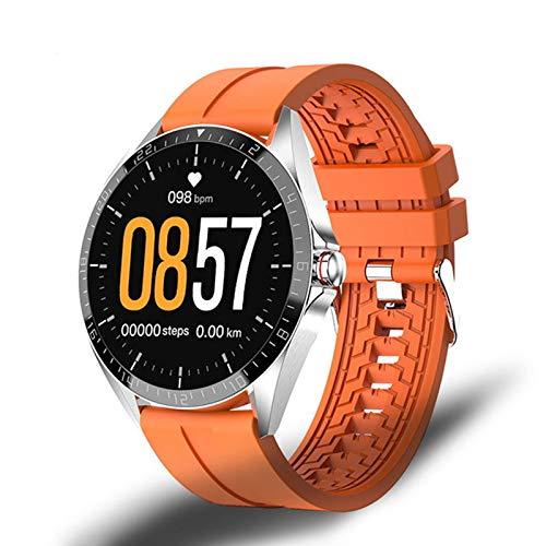 LJMG Smart Watch, GW16T, Sport SmartWatch Tasa del corazón, Monitor de suspensión, IP67 Impermeable, Pulsera Inteligente de iOS Android con versión Global,C
