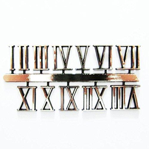 Autoadhesivo dorado plástico romanos reloj Números/números–18mm–Reloj...