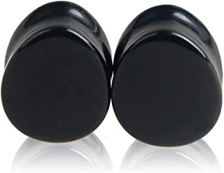 Natural Stone Ear Plugs Kit Saddle Stretchers Expander Set 2G-16mm Piercing Gauges IPINK