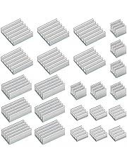 24 Pcs Kit de Disipador de Calor Radiador de Aluminio para Raspberry Pi 4 Model B