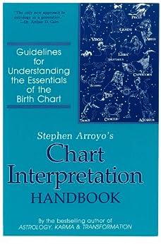 Stephen Arroyo's Chart Interpretation Handbook: Guidelines for Understanding the Essentials of the Birth Chart by [Stephen Arroyo, Jerilynn Marshall]