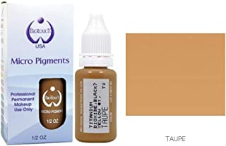 15ml MICROBLADING BioTouch TAUPE Cosmetic Pigment Color microblading supplies Tattoo Ink LARGE Bottle pigment professionally tested permanent makeup supplies Eyebrow Lip Eyeliner pigment