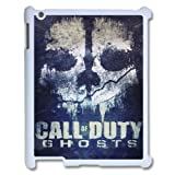 Custom Call of Duty Ghosts Ipad 2,3,4 Case, Call of Duty Ghosts Personalized Case for iPad 2,iPad 3,iPad 4 at Lzzcase