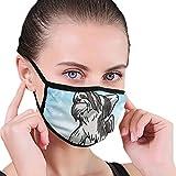 CZLXD - Máscara Antipolvo para Perro Lhasa Apso, Antipolvo, máscara de Boca anticontaminación para Hombre y Mujer