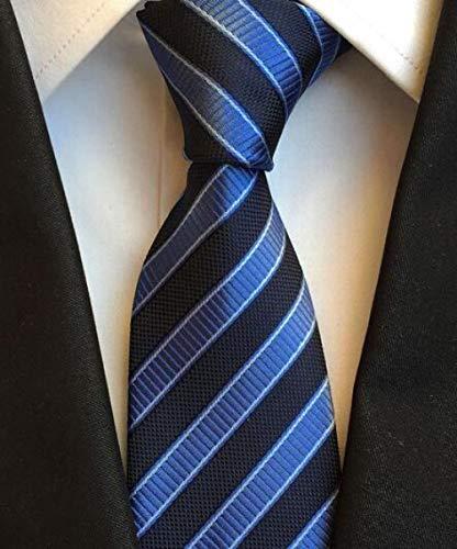 XCLWL Cravates Homme Cravates Homme Cravates pour Hommes Cravates À Carreaux Cravates À Rayures pour Hommes Cravates Formelles De Fête De Mariage d'affaires