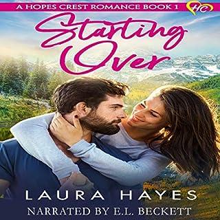 Starting Over: Inspirational Romance  audiobook cover art