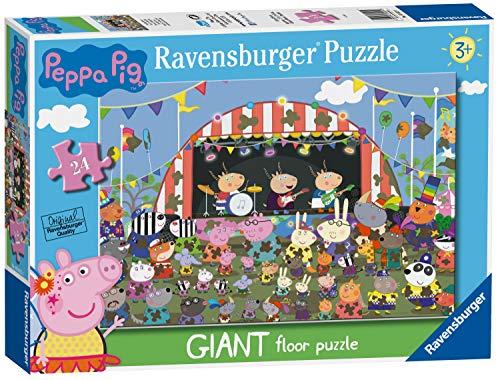 Ravensburger 3022 Wutz Peppa Pig Familienfeiern, riesiges Boden-Puzzle, 24-teilig, für Kinder ab 3 Jahren,