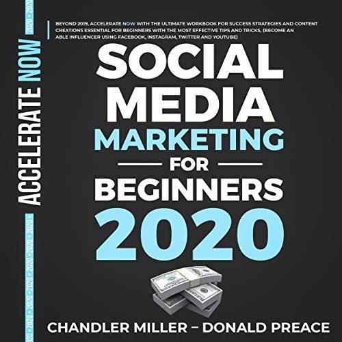 Social Media Marketing for Beginners 2020 audiobook cover art