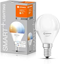 LEDVANCE LED Lamp | E14 | Tunable White | 2700…6500 K | 5 W = 40 W | Smart+ WiFi Mini Bulb Tunable White