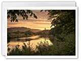 The Wallace Monument Stirling – Schottland Grußkarte von schottischem Landschaftsfotograf Neil...
