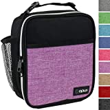 OPUX Premium Insulated Lunch Box | Soft Leakproof School Lunch Bag for Girls, Kids | Durable...