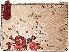 COACH Women's Floral Bundle Mini ID Skinny