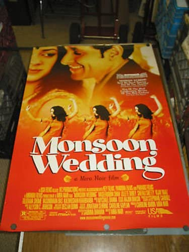 MONSOON WEDDING ORIG. U.S. 2021new shipping free shipping ONE MIRA NAIR SHEET Fixed price for sale MOVIE POSTER