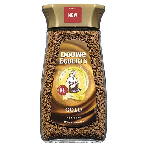 Douwe Egberts Oploskoffie Gold (1.2 Kilogram, Medium Roast Instant Koffie), 6 x 200 Gram