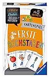 Ravensburger 80659 - Lernen Lachen Selbermachen: Erste Buchstaben, Kinderspiel für 2-4 Spieler, Lernspiel ab 5 Jahren, Kartenspiel