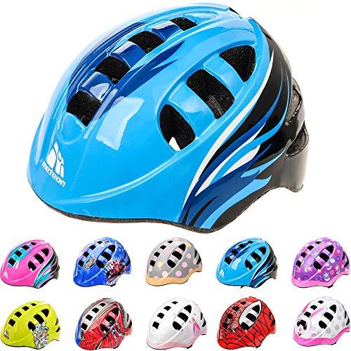 Meteor-Kinder Fahrradhelm, Skaterhelm, Sicherheitshelm METEOR (Orbit Blue, S 48-52cm 200g)
