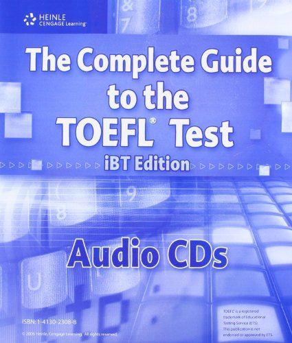 The Complete Guide to the TOEFL Test, iBT: Audio CDs (13) by Bruce Rogers (2006-05-11)