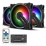 ABKONCORE HR120 RGB Fans, 3...