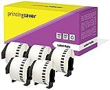 5 Compatibles Rollos DK22223 DK-22223 50mm x 30,48m Etiquetas continuas para Brother P-Touch QL-500 QL-550 QL-560 QL-570 QL-700 QL-720NW QL-800 QL-810W QL-820NWB QL-1050 QL-1060N QL-1100 QL-1110NWB