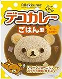 OSK Moule à riz Décoration pour Curry Découpe de riz Moule japonais en forme de personnage kawaii pour Rice LS-7 Fabriqué au Japon (Rilakkuma)