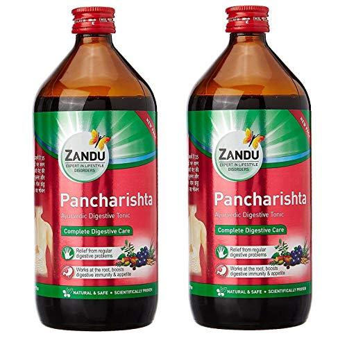 Zandu Pancharishta 450 ml Pack of 2 Digestion Ayurvedic Digestive Health Tonic