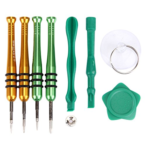 GBHGBH Kit de Herramienta Abierta de reparación de Destornilladores de Rosca Profesional Adecuado For iPhone 7 y 7 Plus