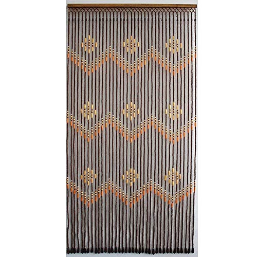 WEM Home Decorative Bead Curtains,Beaded Curtains Living Room Bedroom Partition Curtain Home Use Door Curtain Home Background Decoration Hanging Curtain, Customizable,a,39 Strands-100X190Cm