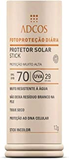 b19f7ab5d Protetor Solar Stick Incolor FPS 70 Incolor (12g) - ADCOS