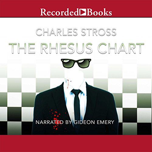 The Rhesus Chart audiobook cover art