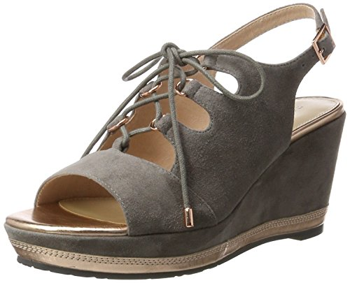 Damen Pumps 703597 01 Grau(taupe 01) Gr.37