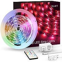 MARSDOCK Music Sync/Remote Control RGB LED Light Strip
