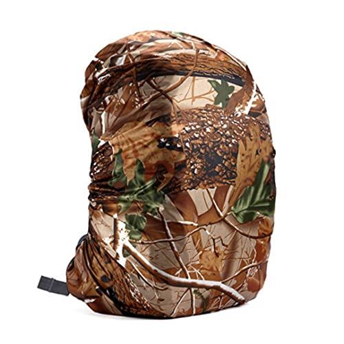 SHOULIEER 35-80l impermeable mochila cubierta al aire libre senderismo escalada bolsa cubierta impermeable lluvia camuflaje 45l