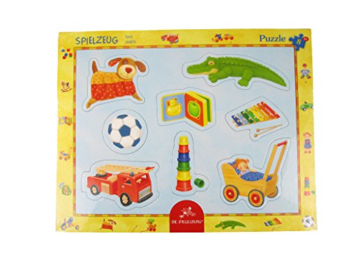 Spiegelburg Lot de 8 Jouets Cadre Puzzle, 37 x 37 x 29 cm, modèle # 11952