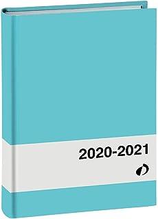 QUO VADIS 549012Q AGENDA SCOLASTICA Anno 2020-2021 HORIZONTAL 15 SD Multilingua Everest denim con elastico 10x15 Settimanale 16 MESI SETTEMBRE-DICEMBRE