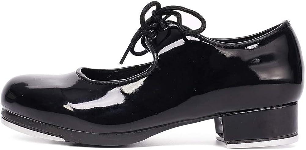 HROYL Boys & Grils Tap Shoes Unisex Tap Shoes Tap Shoes for Kids Tap Shoes for Toddler Girls,TLdance2
