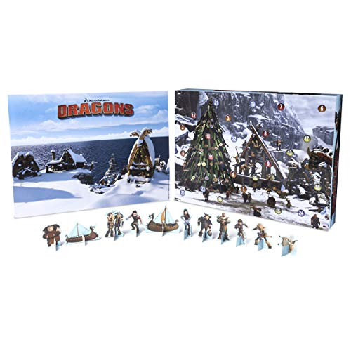 Spin Master 6036479 - DreamWorks Dragons - Adventskalender