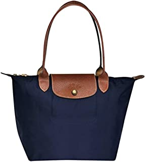 25e48bb80b Longchamps Le Pliage Sac fourre-Tout à bandoulière Bleu Marine Taille L
