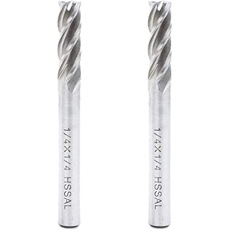 PACK OF 5-1//4 diameter CARBIDE 4 flute End mill endmill USA 120-4250 5x 5pcs