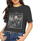 99 The Lumineers Women Crop Top Sexy Summer Cotton T Shirt Tops Camisetas y Tops(Medium)