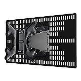 テレビ 壁掛け 金具 STARPLATINUM TVセッター壁美人 ホッチキス止め 23-47インチ対応 FR400 S/Mサイズ ブラック