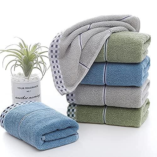 BBNBY Juego de Toallas de algodón Toallas súper Suaves Altamente absorbentes para Ducha de baño Entrega Mixta