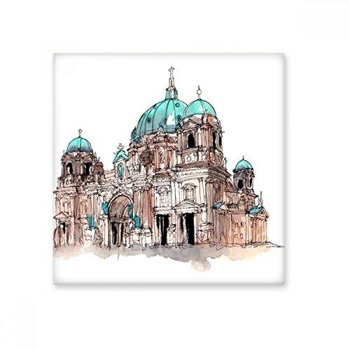 DIYthinker Berlijnse Kathedraal in Duitsland Keramische Bisque Tegels Badkamer Decor Keuken Keramische Tegels Wandtegels Large