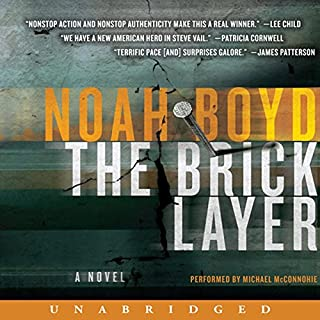 The Bricklayer audiobook cover art