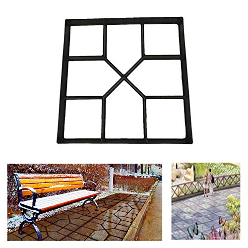 Gooteff Stamped Concrete Molds Paving Molds Black