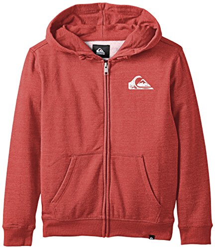 Quiksilver Everyday Sweatshirt Zip Hoodie Jungen 10 Jahre American Beauty Rouge