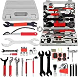 Kaysection Bike Repair Tool Kits, Bicycle Tool Kit Multi-Function Tool Kit, Maintenance Tool Set with Tool Box Best Value Professional Home Bike Tool with Premium Quality